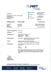 RST Zertifikat