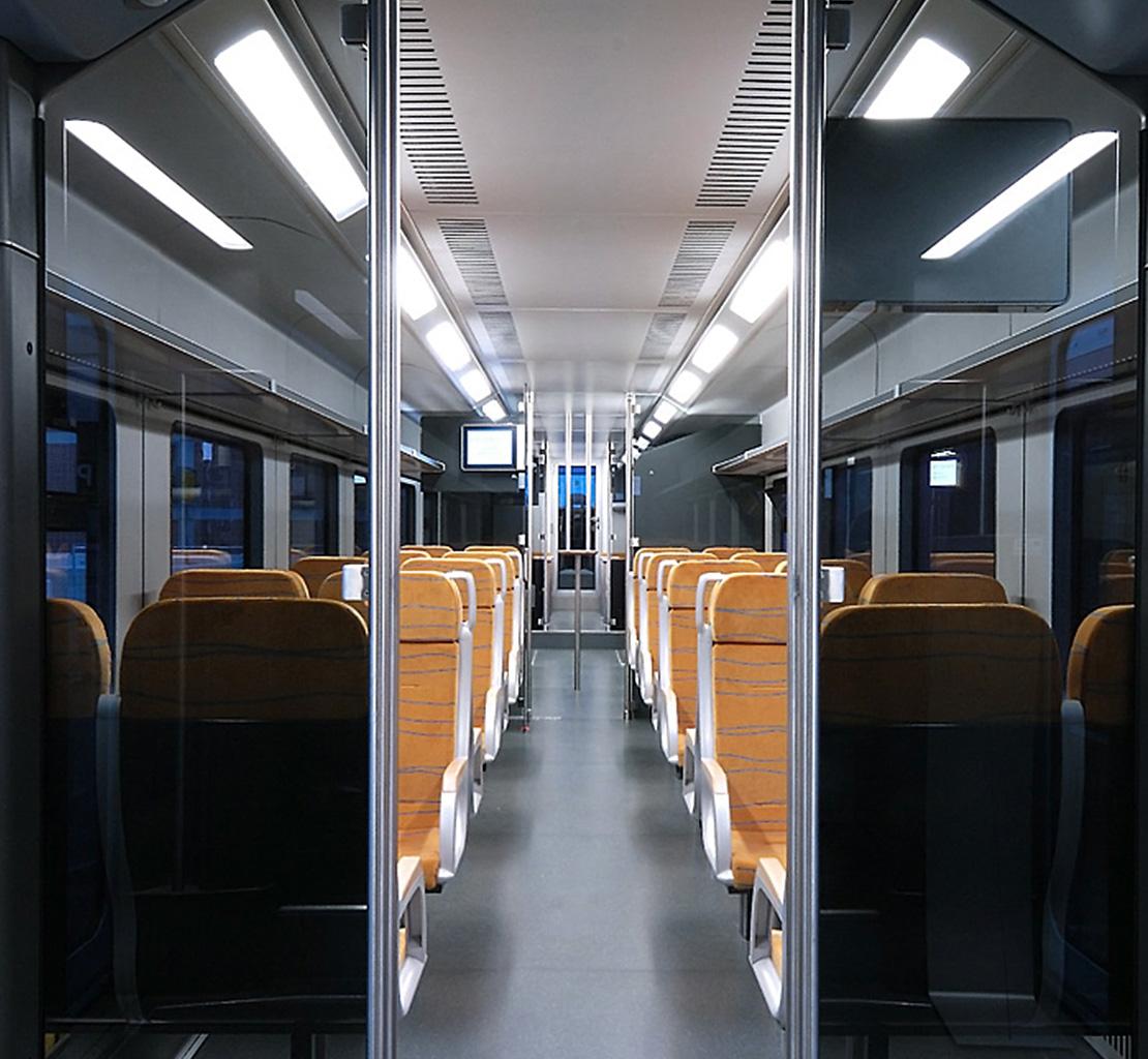 Trennwand Systeme Schienenfahrzeugbau